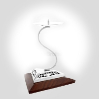 """S"" Candle Stand"